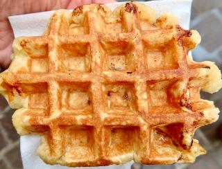 Liège-style waffle BE