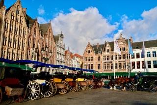 Market Square, Bruges BE