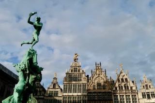 Grand Place, Antwerp BE