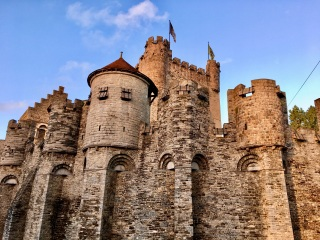 Castle of the Counts, Ghent BE