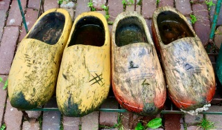 Wooden shoes NL
