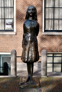 Statue of Anne Frank, Amsterdam NL