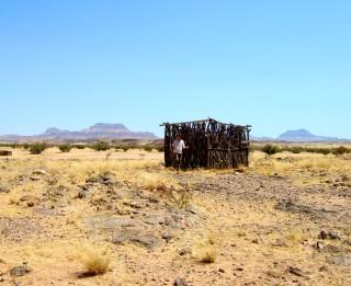 Herders' Shelter, Damaraland, Namibia
