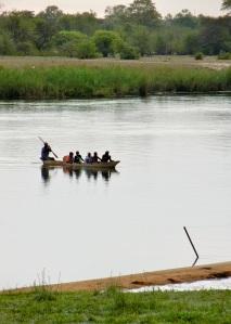 Okavango River near Rundu, Namibia