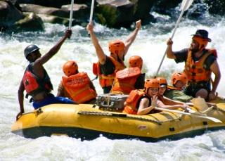 Rafting, Zambezi River, Zimbabwe